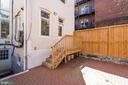 Rear Exterior Patio - 1827 S ST NW, WASHINGTON