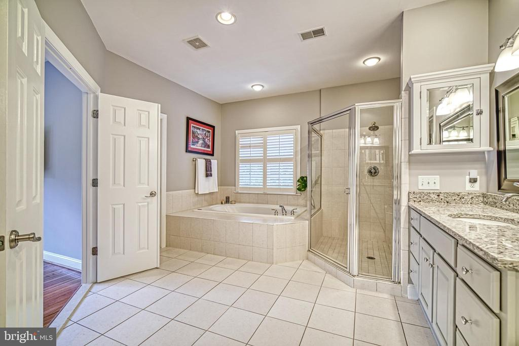 Look how much room there is in  your master bath - 2704 SILKWOOD CT, OAKTON