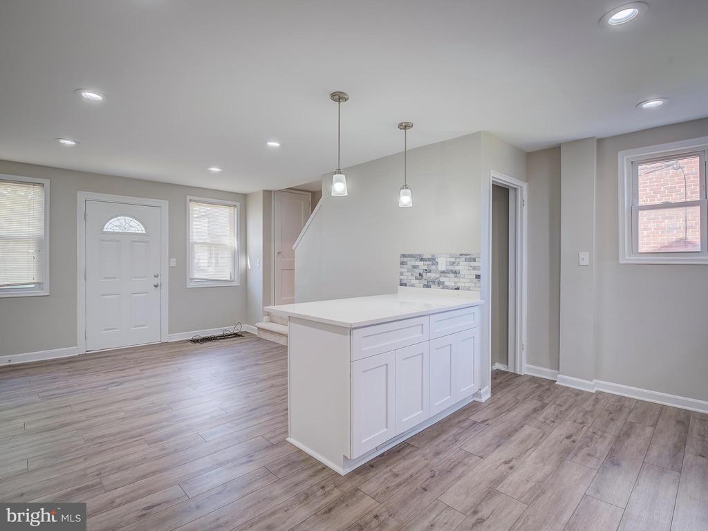 Kitchen/Living Room - 5518 C ST SE, WASHINGTON