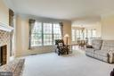 Family room with quick access to deck, great view - 19862 LA BETE CT, ASHBURN