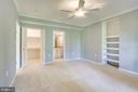Bedroom 5! With private bath and built-ins! - 19862 LA BETE CT, ASHBURN