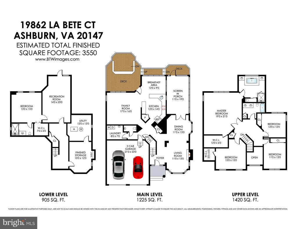 Come see it in person! You'll be glad you did! - 19862 LA BETE CT, ASHBURN