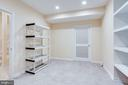 Fully finished work and/or storage room - 19862 LA BETE CT, ASHBURN