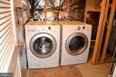 Laundry room - 13004 ROSEBAY DR #1704, GERMANTOWN