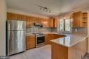 Apartment has updated Kitchen - 6 RIVER OAK PL, FREDERICKSBURG