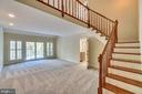 Main level Master Bedroom Suite w Loft - 6 RIVER OAK PL, FREDERICKSBURG