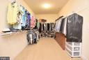 Master Bedroom Walk-in Closet - 60 SNAPDRAGON DR, STAFFORD