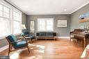 Living Room - 2326 N VERNON ST, ARLINGTON