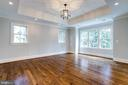 Master Bedroom with 10 1/2 Foot Tray Ceiling - 4514 25TH RD N, ARLINGTON