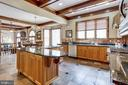 Open, Spacious Gourmet Kitchen - 7780 KELLY ANN CT, FAIRFAX STATION