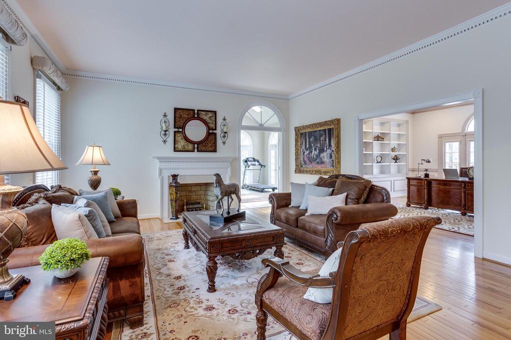 Formal Living Room - 7780 KELLY ANN CT, FAIRFAX STATION