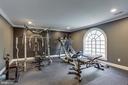 Premium Gym off Master Bedroom - 7780 KELLY ANN CT, FAIRFAX STATION