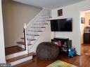 FROM LIVING ROOM LOOKING AT STAIRS - 521 E BELLEFONTE AVE, ALEXANDRIA