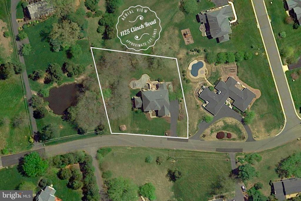 Aerial View - 1125 CLINCH RD, HERNDON