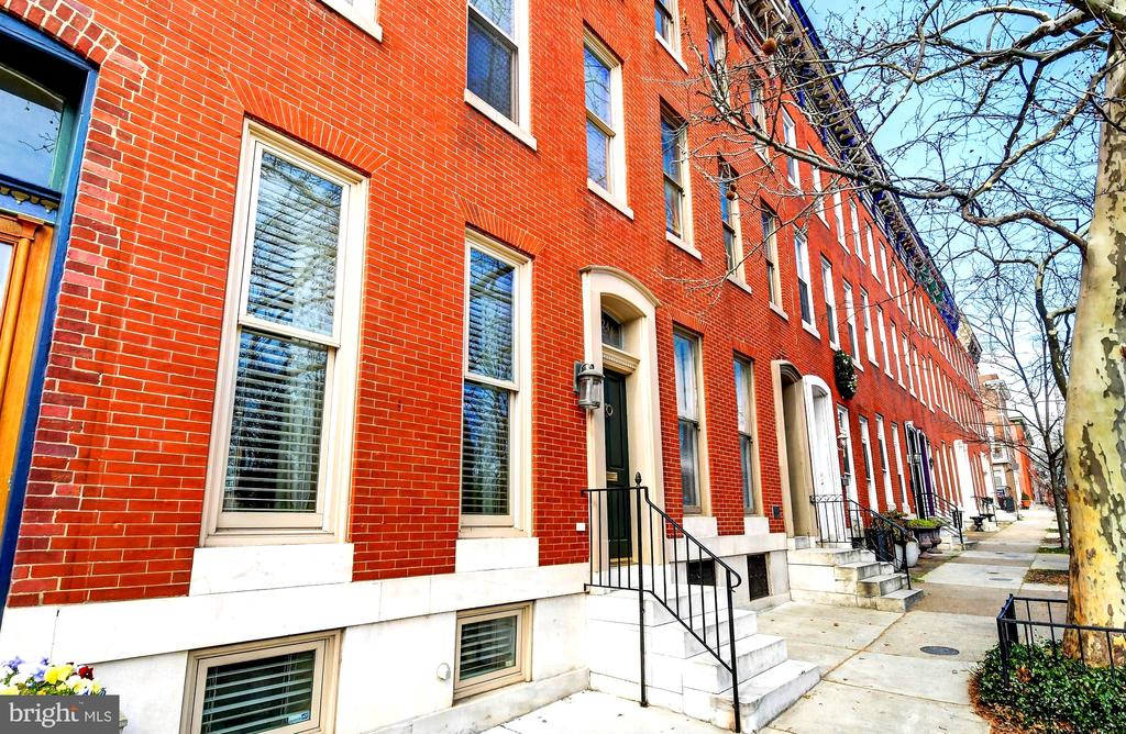 Located directly across from the Pagoda - 124 S PATTERSON PARK AVE, BALTIMORE