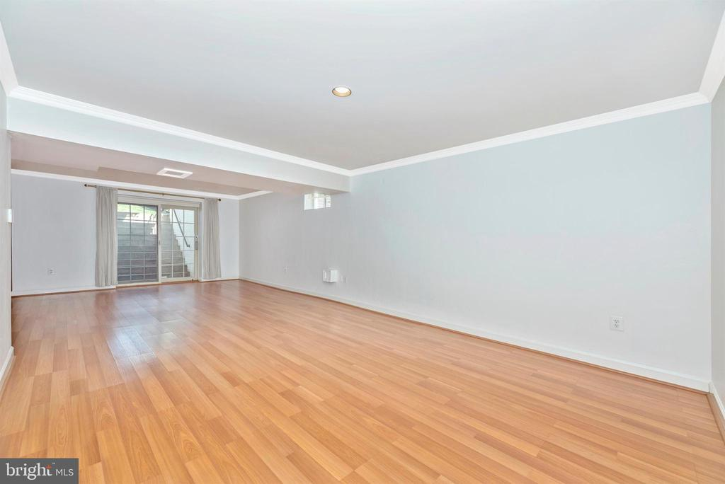 Lower level is vast, and another living space - 6301 IVERSON TER N, FREDERICK