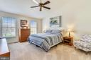 Master Bedroom with vaulted ceiling! - 20756 LAPLUME PL, ASHBURN