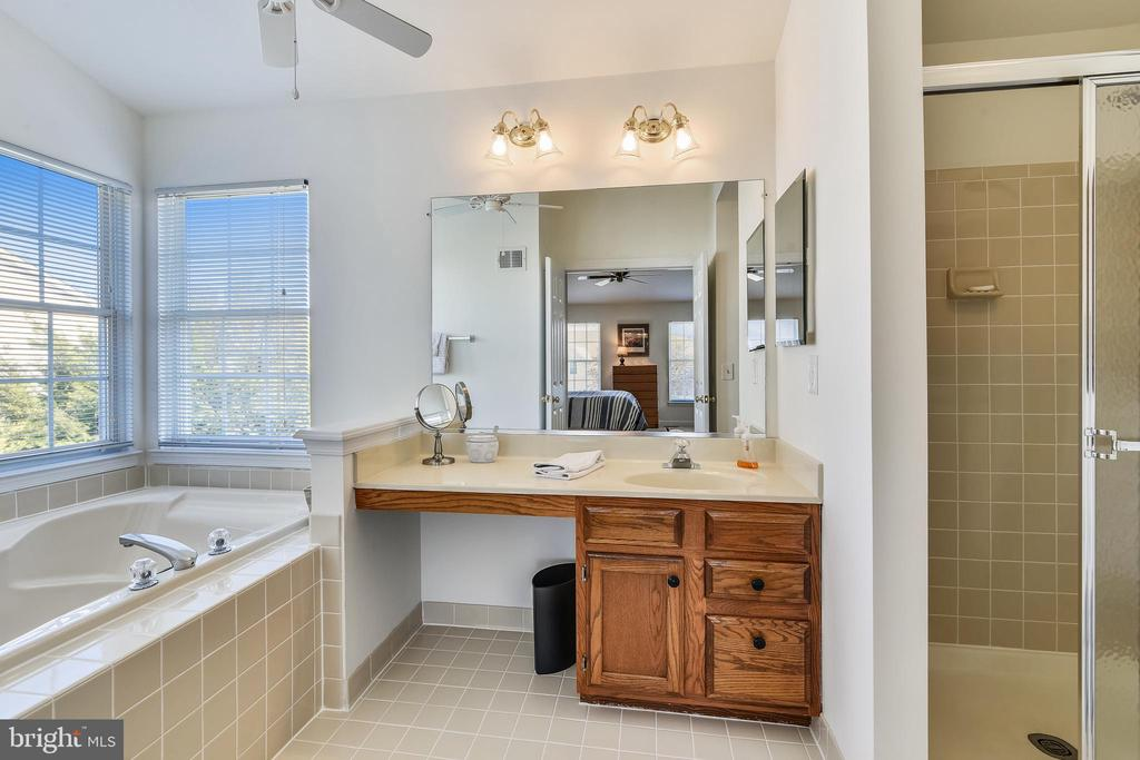 Master bath! Shows like NEW! - 20756 LAPLUME PL, ASHBURN
