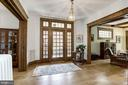 Gracious entry foyer - 3819 LIVINGSTON ST NW, WASHINGTON