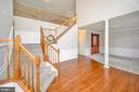 Foyer view stunning floors - 42 LIGHTFOOT DR, STAFFORD