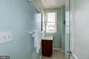 2nd bath with walk-in shower - 3819 LIVINGSTON ST NW, WASHINGTON