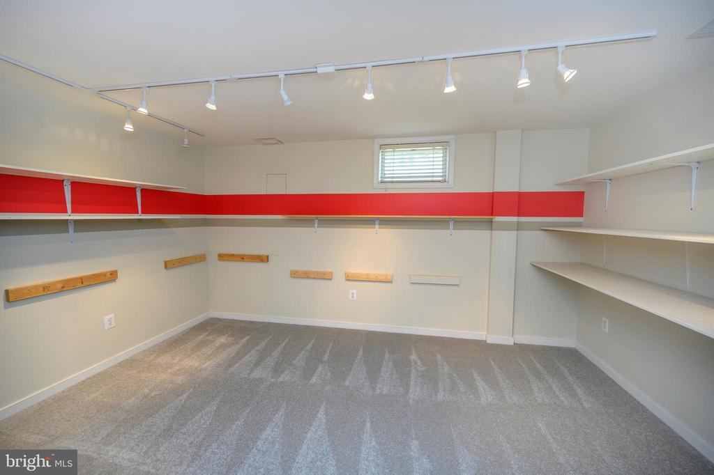 Craft room w/ shelving/work out /extra bedroom - 42 LIGHTFOOT DR, STAFFORD