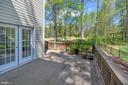 View from deck/backs to gold course/gardens - 42 LIGHTFOOT DR, STAFFORD