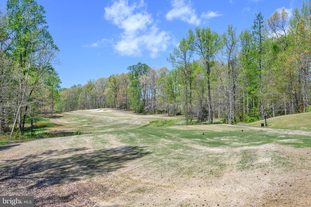 Golf course view from the back of home - 42 LIGHTFOOT DR, STAFFORD