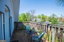 Lovely views of the neighborhood & sunsets - 3819 LIVINGSTON ST NW, WASHINGTON