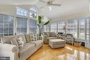 Amazing sun room from family room! - 20756 LAPLUME PL, ASHBURN
