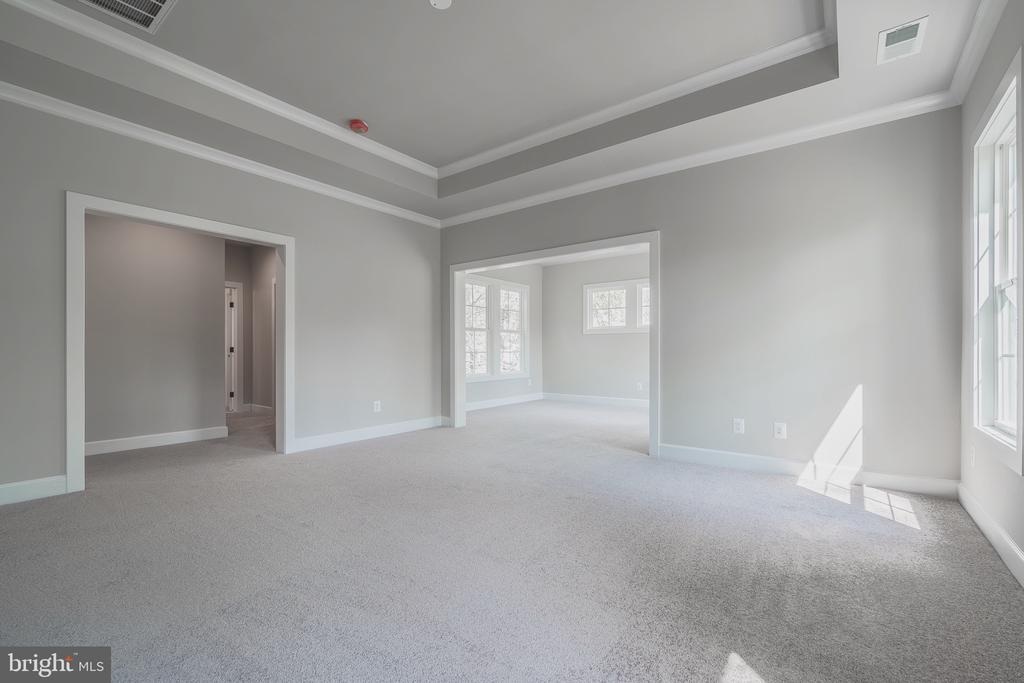 Huge master br w/ tray ceiling with sitting room - 8604 NORFOLK AVE, ANNANDALE