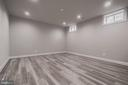 Finished exercise/media  room - 8604 NORFOLK AVE, ANNANDALE