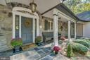 Beautiful welcoming front porch! - 6 RIVER OAK PL, FREDERICKSBURG