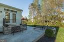 Gorgeous patio - 31 CRAWFORD LN, STAFFORD