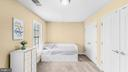 Bedroom with  two closets - 31 CRAWFORD LN, STAFFORD