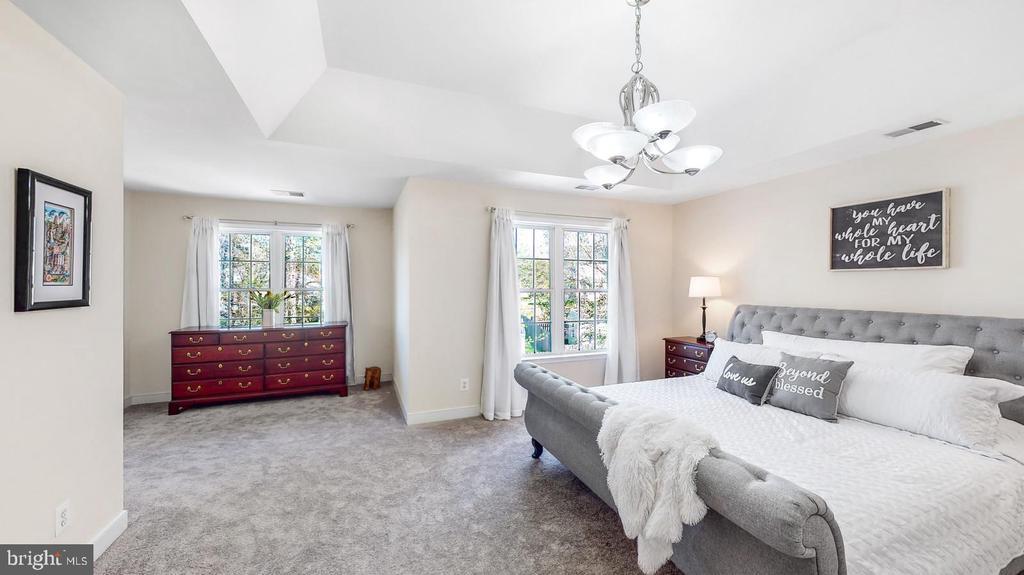 Master bedroom new carpet - 31 CRAWFORD LN, STAFFORD