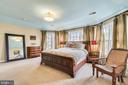 Master Bedroom with tons of natural light - 47774 BRAWNER PL, STERLING