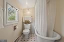 Clawfoot tub & casement windows!  LOVE! - 17350 DRY MILL RD, LEESBURG