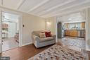 Corbels through wide portal w to kitchen. - 17350 DRY MILL RD, LEESBURG