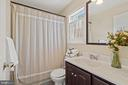 Sunny 2nd bath off sun room & kitchen. - 17350 DRY MILL RD, LEESBURG