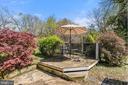 Deck off sun room & kitchen. - 17350 DRY MILL RD, LEESBURG