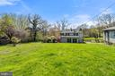 View from middle yard of rear of home. - 17350 DRY MILL RD, LEESBURG