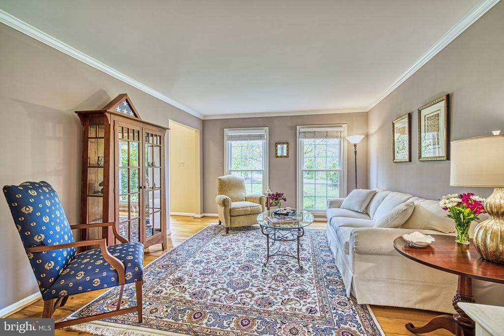 Hardwood floors in living and dining rooms - 12216 HEATHER WAY, HERNDON