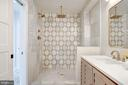 Oversized Shower with Dual Heads - 802 10TH ST NE #2, WASHINGTON