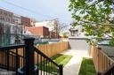 Secured Rear Yard and Parking - 802 10TH ST NE #2, WASHINGTON