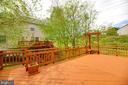 Deck View - 5408 GREEN GLEN LN, ALEXANDRIA