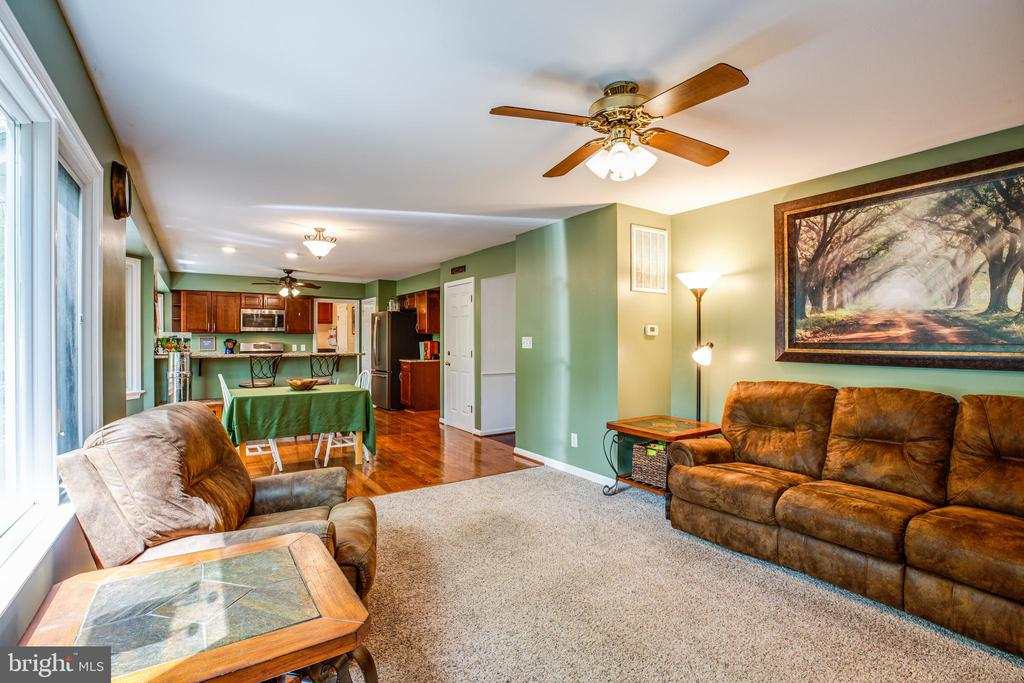 Family Room - 10408 EDINBURGH DR, SPOTSYLVANIA
