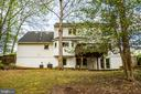 Rear View - 10408 EDINBURGH DR, SPOTSYLVANIA