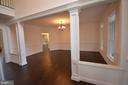 FORMAL DINING ROOM - 5903 COPPER MILL DR, FREDERICKSBURG