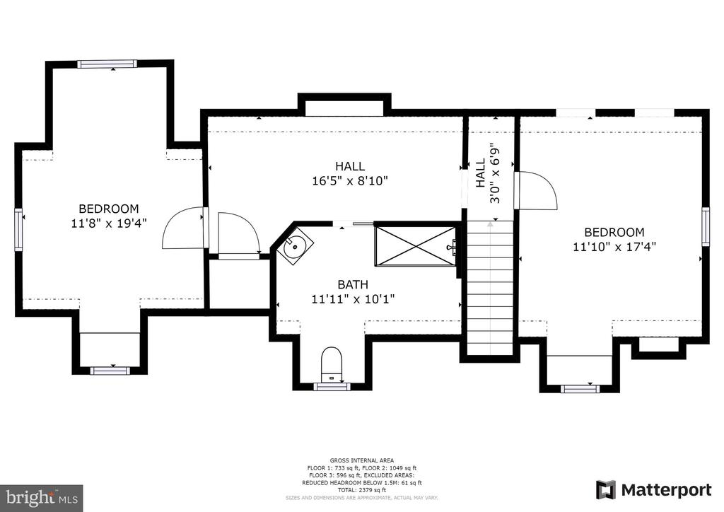 Second Level Floor Plan - 1249 MAPLE RD, ARNOLD